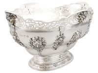Sterling Silver Presentation Bowl - Antique George V 1918 (5 of 12)