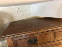 Antique Vintage Walnut Chest of Drawers (2 of 10)