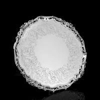 Exceptional Large Solid Sterling Silver Victorian Salver/tray/platter 47cm with Cast Border - Hunt & Roskell - Storr Mortimer & Hunt (25 of 29)