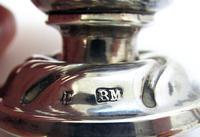 Antique Berthold Muller Neresheimer Victorian Solid Sterling Silver Pepper Pot Shaker Cruet Caster 1900 (8 of 8)