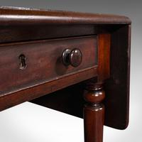 Antique Pembroke Table, English, Mahogany, Extending, Dining, Regency c.1820 (10 of 12)