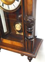 Fantastic Rare Victorian 8-day Wall Clock – Small Antique Striking Vienna Wall Clock (10 of 17)
