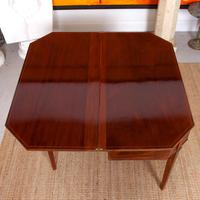 Folding Writing Desk 19th Century Mahogany (7 of 17)