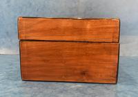 Victorian Walnut & Tunbridge Ware Jewellery Box (8 of 11)