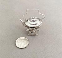 Charming Edwardian Miniature Spirit Kettle (5 of 5)