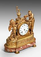 Louis XVI Period Gilt Bronze Mantel Clock (2 of 4)