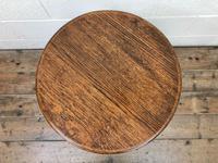 Early 20th Century Oak Side Table (3 of 6)