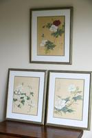 3 x Chinese Botanical Watercolours (2 of 12)