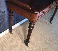 Victorian Mahogany Writing Table (10 of 13)