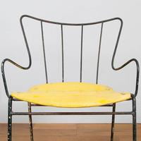 Early Ernest Race Antelope Chair Yellow (4 of 14)