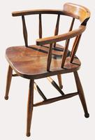Victorian Elm Captains Chair (4 of 5)
