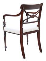 Georgian Quality Set of 8 Mahogany Dining Chairs c.1800 (9 of 12)
