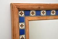 Large Mexican Tiled Mirror Vintage 1950's (4 of 10)