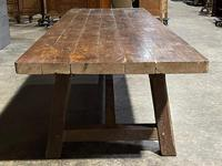 Huge Rustic French Oak Farmhouse Dining Table (23 of 35)