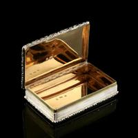 Rare Antique Georgian Solid Silver Mazeppa Snuff Box - Edward Smith 1836 (16 of 23)
