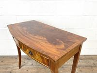 Reproduction Mahogany Bow Front Side Table (6 of 9)