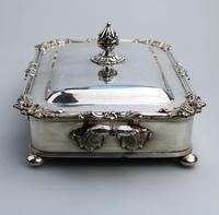 Scarce Regency Silver Old Sheffield Plate Cheese / Bacon Dish c.1820 (4 of 11)