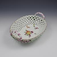 Fine Large Chelsea Red Anchor Porcelain Basket c.1750-1758 (9 of 18)