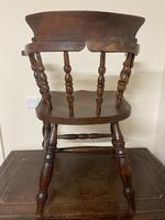 Victorian Ash & Elm Smokers Chair (10 of 10)