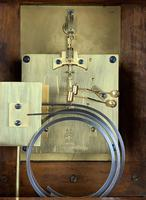 Fine quality burr walnut bracket clock by Lenzkirch of Germany, with a quarter chiming movement c.1903 (3 of 14)
