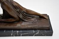 Large Art Deco Bronze Dancing Nude Figure (6 of 10)
