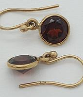 Gold Garnet Drops (3 of 5)