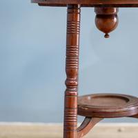 Aesthetic Movement Dumbwaiter Table (5 of 8)