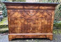 Burr walnut Louis Philippe commode (6 of 13)