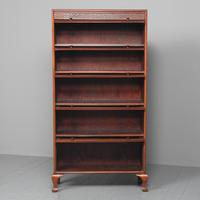 Mahogany 5 Door Sectional Bookcase (3 of 11)