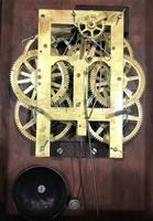 1890 Anglo American Striking Drop Dial Wall Clock (7 of 7)