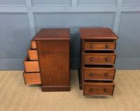 Pair of Victorian Mahogany Bedside Chests (7 of 16)