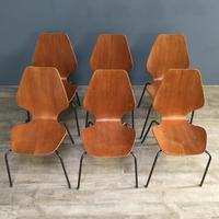 Teak 'City Chairs' by Øyvind Iversen (13 of 13)