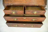 Antique Oak Bureau Bookcase (8 of 9)