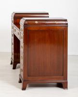 Georgian style mahogany pedestal sideboard (5 of 8)