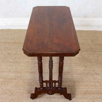Library Desk Writing Table Mahogany 19th Century (6 of 13)