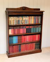 Oak Open Bookcase c.1910 (3 of 10)