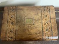 Beautiful Late Victorian Inlaid Walnut Writing Slope (7 of 10)