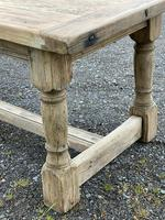 Rustic Bleached Oak French Farmhouse Dining Table (31 of 34)