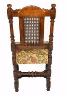 Set of 8 Oak Dining Chairs Barley Twist Farmhouse Diners (12 of 13)