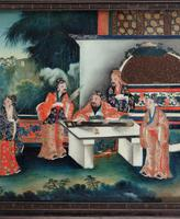 Good Early 20th Century Chinese Reverse Glass Painting (4 of 4)