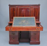 Superb Quality 19th Century Mahogany Secretaire Desk Cabinet (10 of 12)