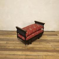 Early 20th Century Moorish Rosewood Window Seat - Bench (11 of 11)