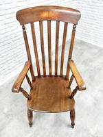 19th Century Windsor Lathback Armchair (2 of 6)