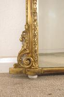 Victorian Gilt Arch Top Overmantle Mirror (3 of 6)