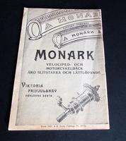 1931 Monark Motorcycle & Bicycle Rare Catalogue / Brochure Sweden (7 of 7)