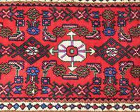 Small Hamadan Hand Woven Carpet (2 of 4)