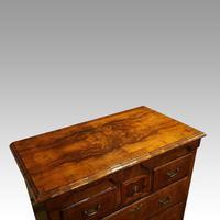 George III Walnut Norfolk chest (6 of 13)