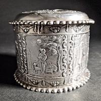 Dutch Silver Tea Caddy (4 of 7)