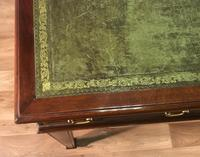 George III Style Mahogany Partners Library Table (7 of 14)