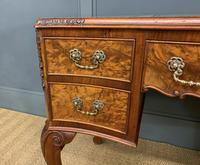 Good Queen Anne Style Burr Walnut Writing Desk (14 of 18)